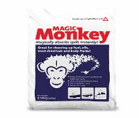 Granular Absorbents for 10lbs kg monky magic