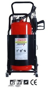 Trolley Mounted water mist & CAF Extinguisher